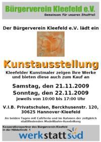 Kunstausstellung in Kleefeld