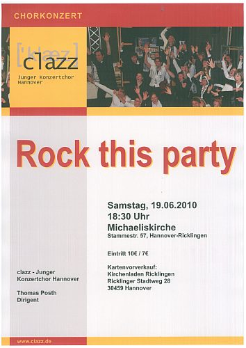 clazz: Rock This Party